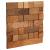 Stegu CUBE 2 drevený obklad