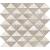 Tubadzin FONDO Graphite obklad mozaika 29,8x32,7