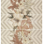 APE DECOR SET(3) MIA CREAM 31,6X90 lesklý obklad 6,5mm dekor kvet rektifikovaný