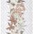 APE DECOR SET(3) MIA BIANCO 31,6X90 lesklý obklad 6,5mm dekor kvet rektifikovaný