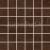 Rako COMBI DDM06361 mozaika 4,7x4,7 ( Defile ) hnedá 29,5x29,5x1cm, 1.tr.