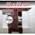 ZARZ revízne dvierka pod obklady 60x90 cm, otváranie click-clack, pozink oceľ+lišta 8/10mm
