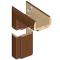 INVADO obložková nastaviteľná zárubňa, pre hrúbku steny 240 - 259 mm