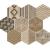 APE DECOWOOD HAYA MIX 25X29 matná dlažba 10 mm dekor