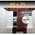 ZAVRZ Revízne dvierka š x v 40x75 cm s PUSH systémom, Kovový rám, Pravé