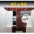 ZAVRZ Revízne dvierka š x v 40x90 cm s PUSH systémom, Kovový rám, PRAVÉ