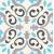 Tubadzin UNIT PLUS Patch White 22,3x22,3 dekor