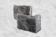 Stegu CALABRIA 2 Grey Roh - rohový kamenný obkladový prvok