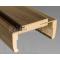 DRE obložková zárubňa fólia dyha DRE-CELL  pre hrúbku steny 95-115 mm