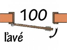 100 Ľavé