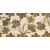 APE DECOR TRAVIS/JORDAN BEIGE 25X50 lesklý obklad 10mm dekor kvety