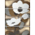 APE DECOR SET (4) CARLA 20X60 matný obklad 10mm dekor kvety