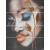 APE DECOR SET (4) GABRIELLE  20X60 lesklý obklad 10mm dekor žena-tvár