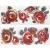 APE DECOR SET(2) SMART ROJO/NEGRO 20X50 lesklý obklad 11mm dekor