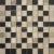 APE MOSAICO FLASH CHOCO 25X25 matný obklad 9mm mozaika