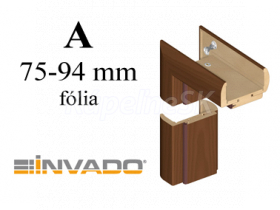 INVADO obložková nastaviteľná zárubňa, pre hrúbku steny 75 - 94 mm