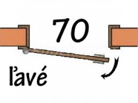 70 Ľavé